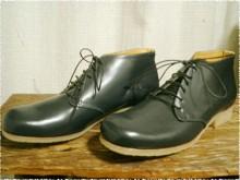 グレーのショートブーツ [papit-022]