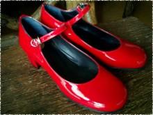 インパクトのあるエナメル靴 [papit-036]